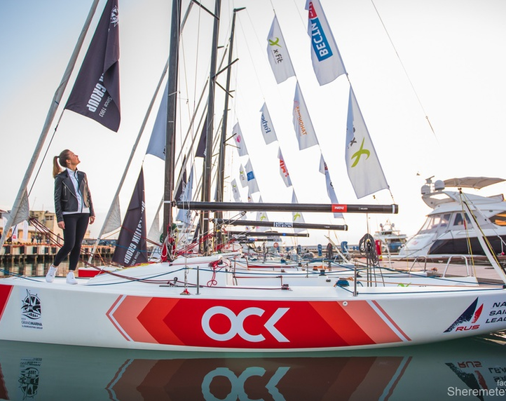 Sailboats branding for Russian national yachting league